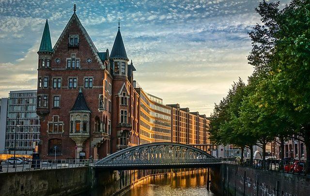 Hamburg grad sa najviše mostova
