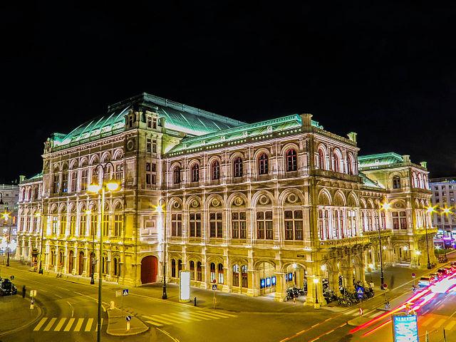 Bečka opera - Beč znamenitosti