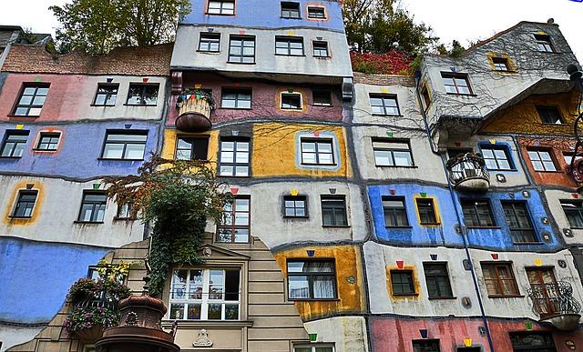 Hundertwasserhaus - Beč znamenitosti